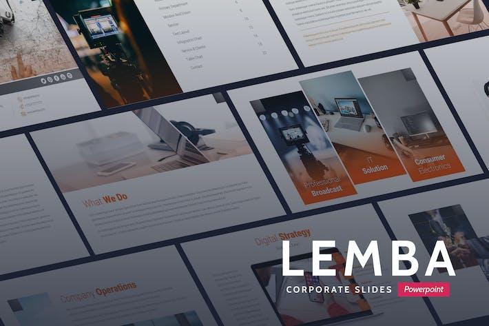 Lemba - Modern Bussines Powerpoint