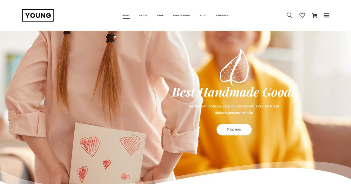 Download Young - Multipurpose eCommerce HTML Template by codecarnival