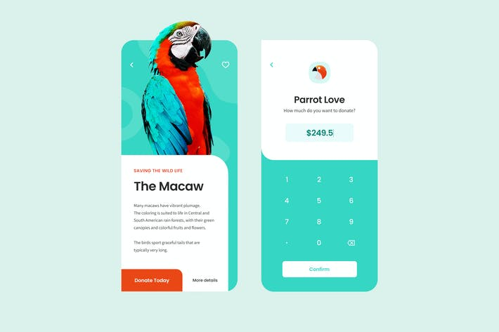 Thumbnail for Makaw App UI Concept