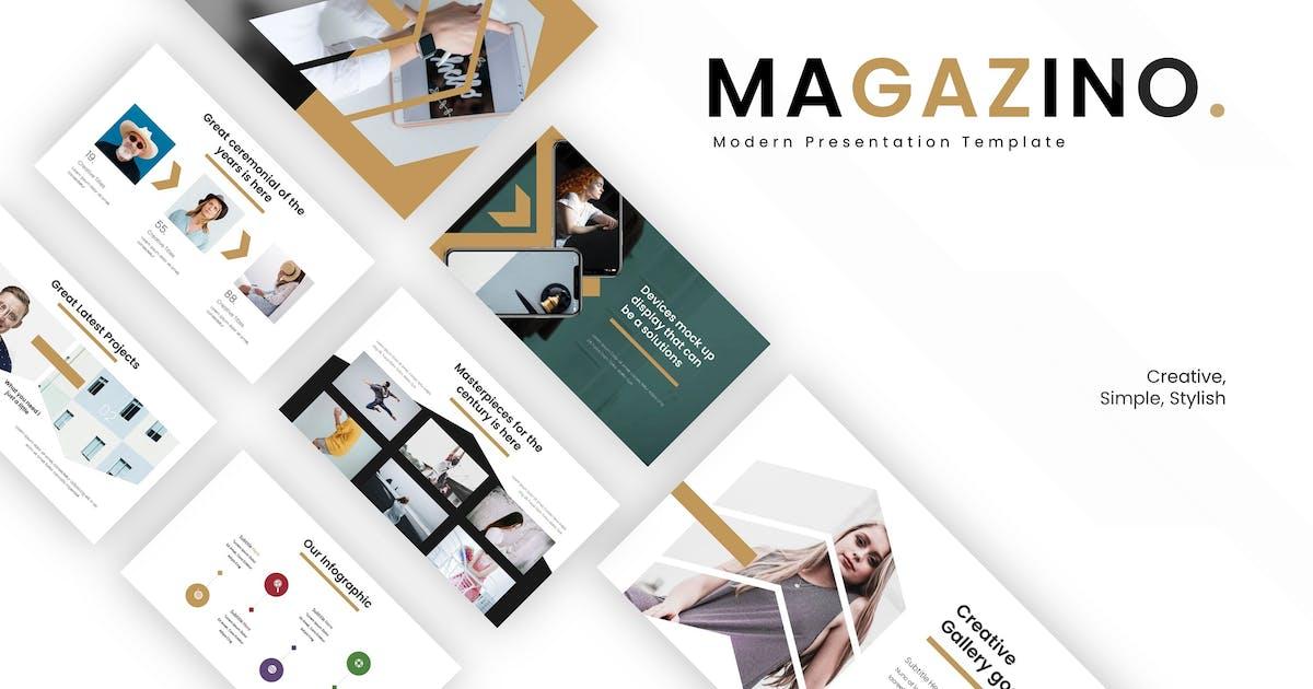 Download Magazino - Keynote Template by vincentllora