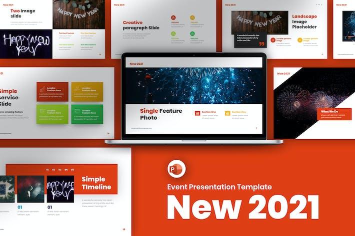 Thumbnail for Новый шаблон презентации событий 2021