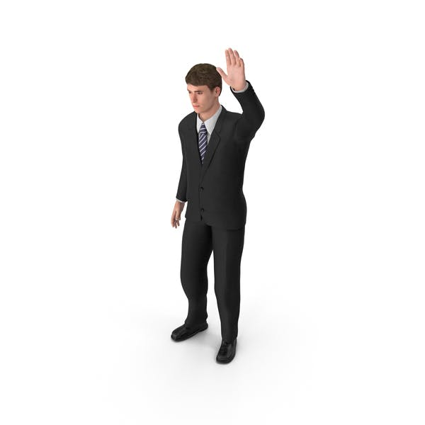 Thumbnail for Businessman John Waving