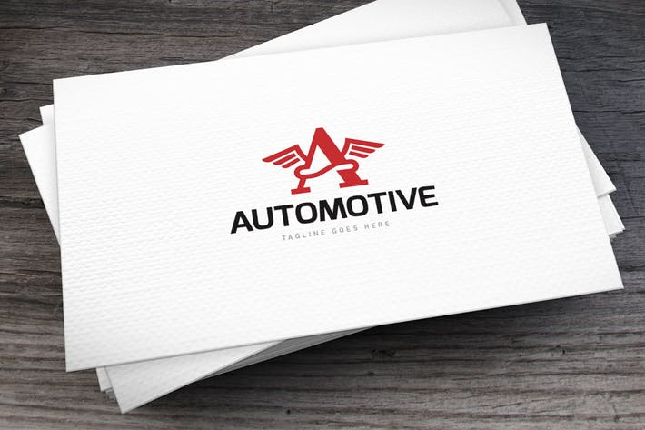 Thumbnail for Automotive Lette A Logo Template
