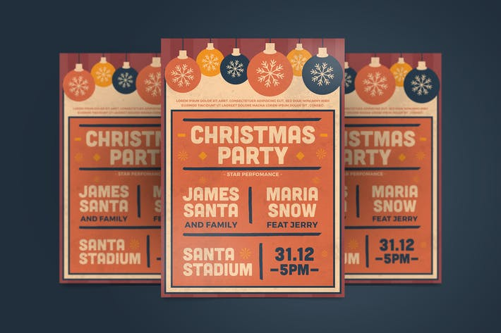 Thumbnail for Christmas Party Flyer