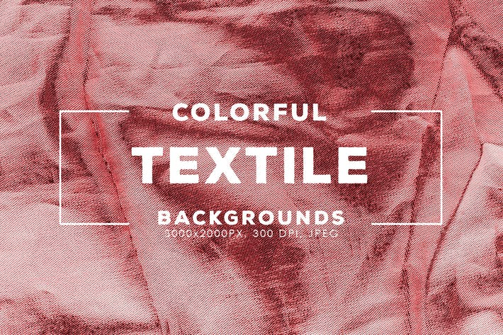 Thumbnail for 32 Colorful Textile Backgrounds