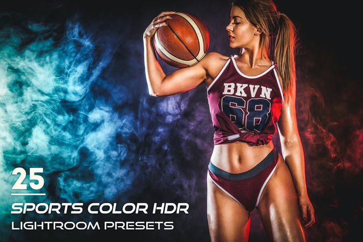 Cover Image For 25 Sports Color HDR Lightroom Presets