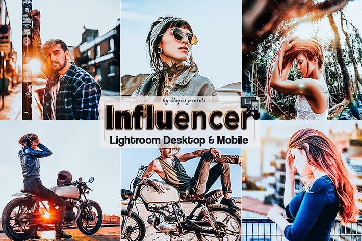 Thumbnail for Стили Influencer Lightroom для мобильных и настольных ПК