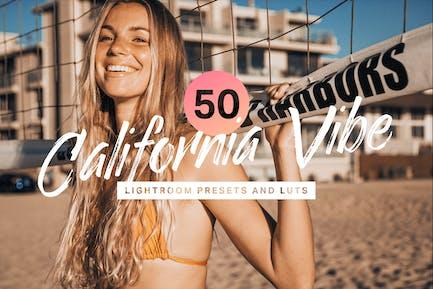 50 Пресеты Lightroom California Vibe и LUT