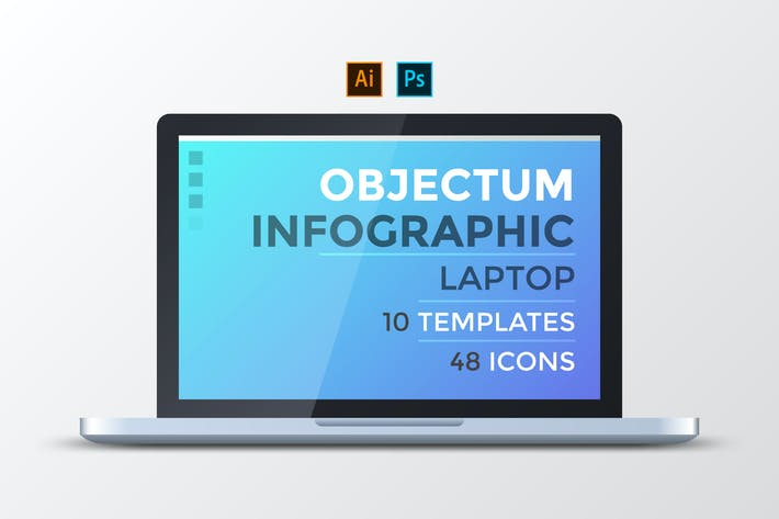 Thumbnail for Objectum Infographic: Laptop