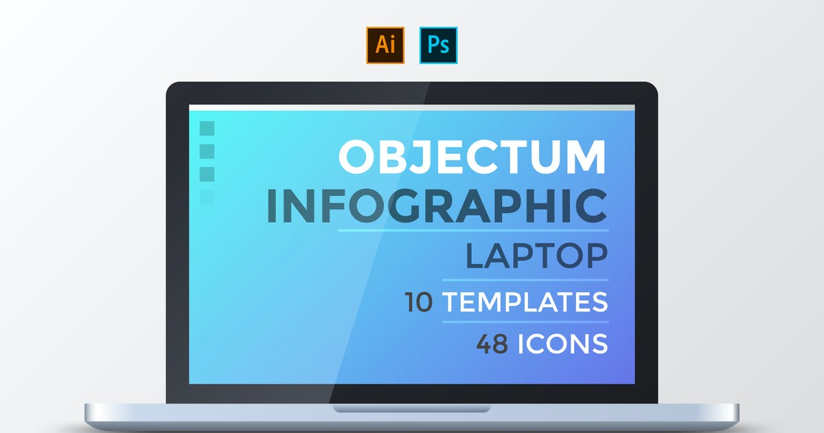 Download Objectum Infographic: Laptop by Andrew_Kras