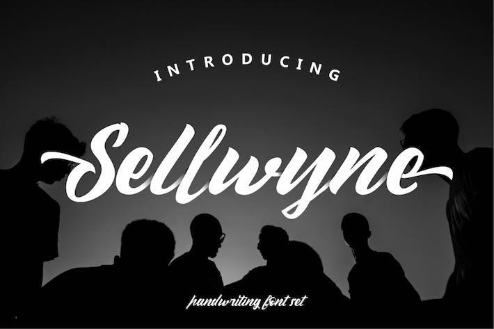 Thumbnail for Sellwyne | Handlettering Font
