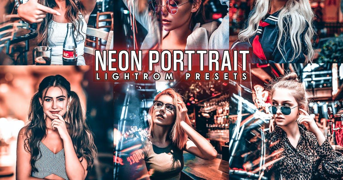 Download Neon Portrait Presets ( Mobile & Desktop) by 2lagus