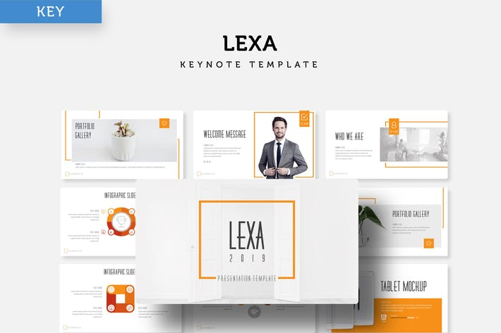 Thumbnail for Lexa - Keynote Template