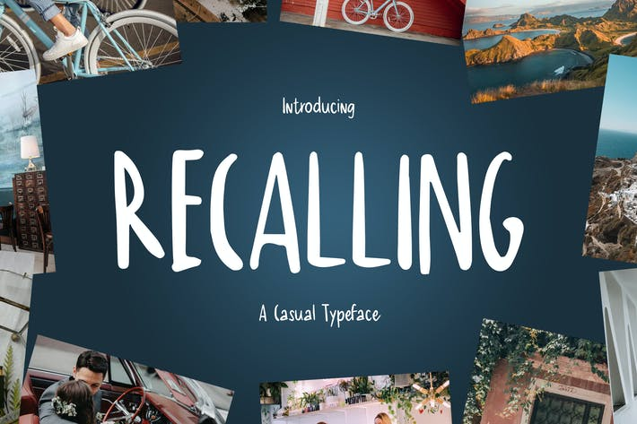 Thumbnail for Recordando - A Casual Tipo de letra