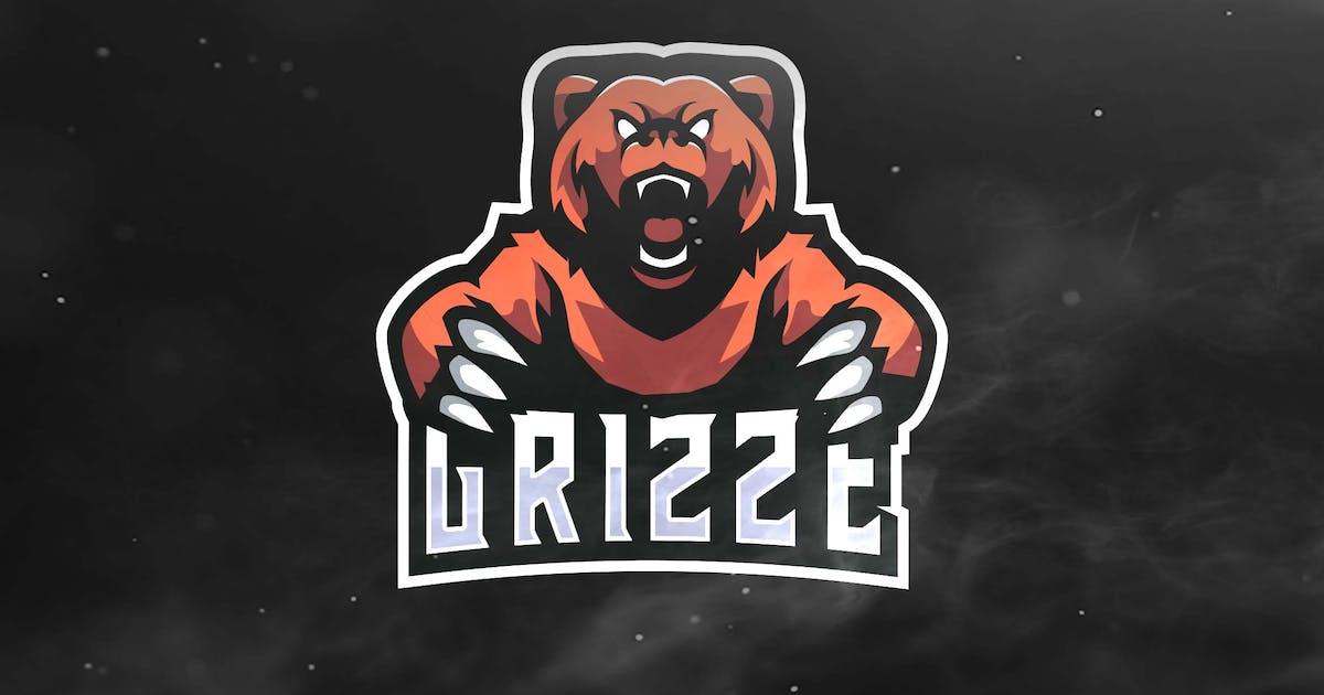 Grizze Sport and Esports Logos by ovozdigital