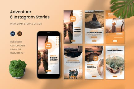 Adventure Experiences Instagram Story