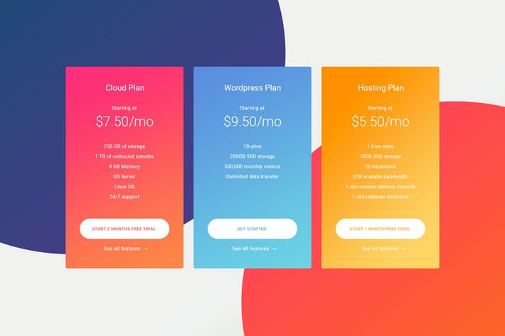 Thumbnail for Pricing Table 01