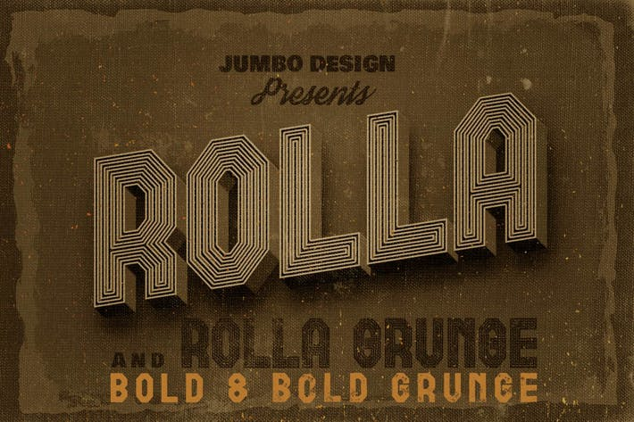 Thumbnail for Rolla Font