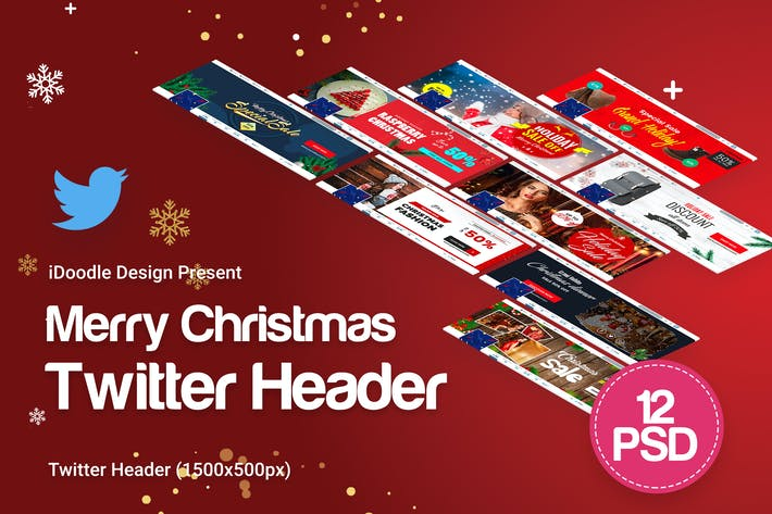 Cover Image For Merry Christmas Twitter Headers