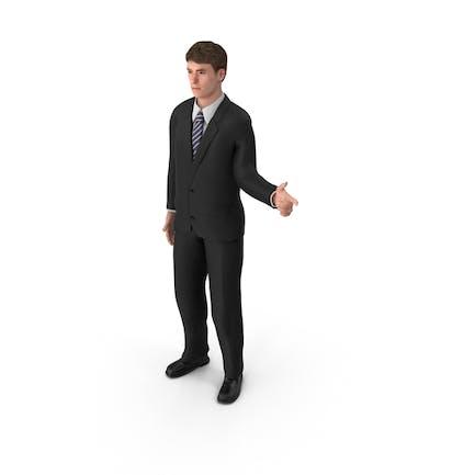 Businessman John Pointing