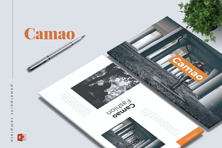 Thumbnail for CAMAO - Fashion Powerpoint Template