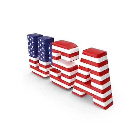 Текст в США