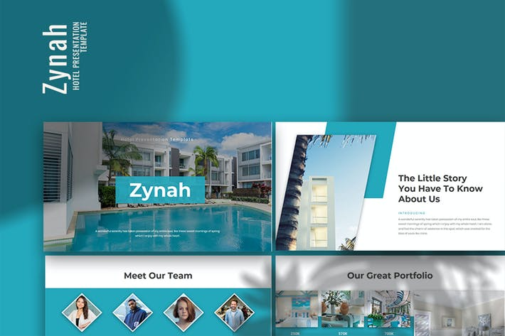 Thumbnail for Zynah - Hotel Keynote Presentation