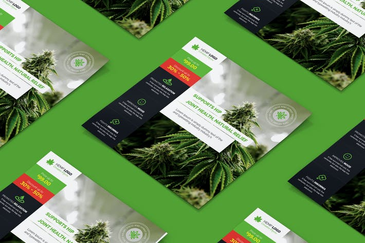 Thumbnail for Hemp Products Square Flyer