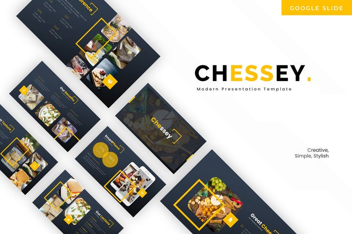 Cover Image For Chessey - Google Slides Template