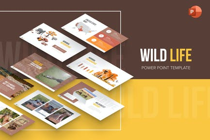Wildlife Nature Professional PowerPoint Template