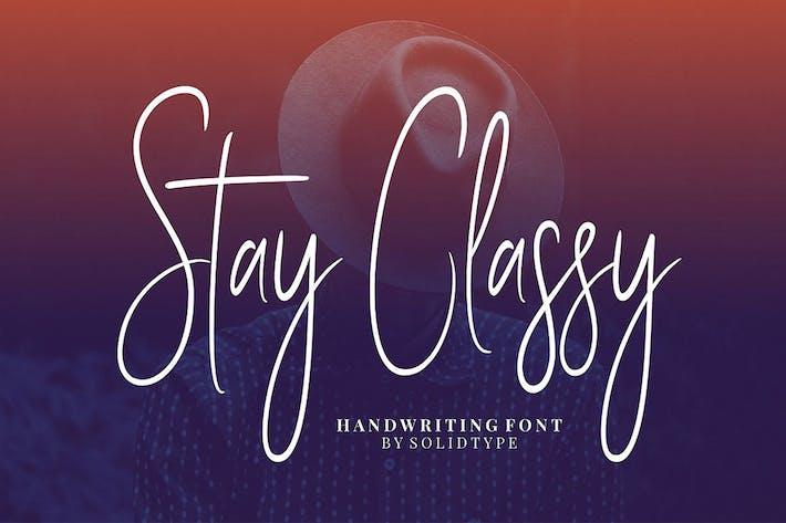 Thumbnail for Estancia con clase - Font Family