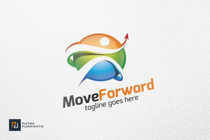 Thumbnail for Move Forward / People - Logo Template