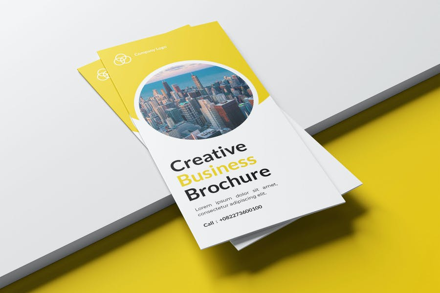 GREATIVE BUSINESS TRIFOLD BROCHURE TEMPLATE