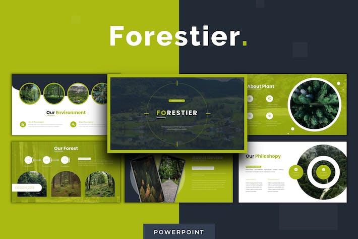 Forestier - Powerpoint Template