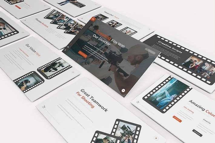 Thumbnail for Move Studios Keynote Template