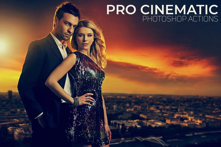 Thumbnail for Pro Cinematic Photoshop Actions
