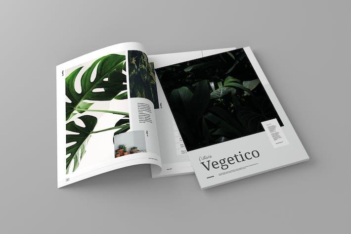 Thumbnail for Nature Vegetico - Magazine Template