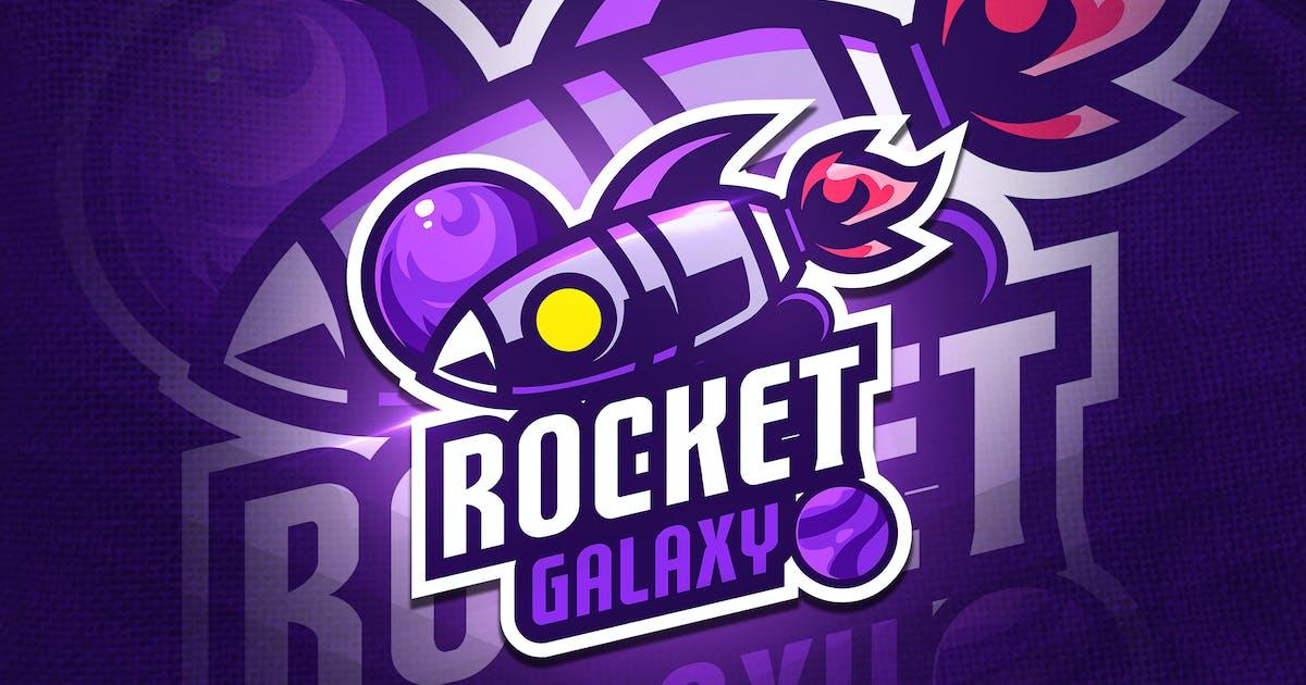 Download Rocket Galaxy - Mascot & Esport Logo by aqrstudio