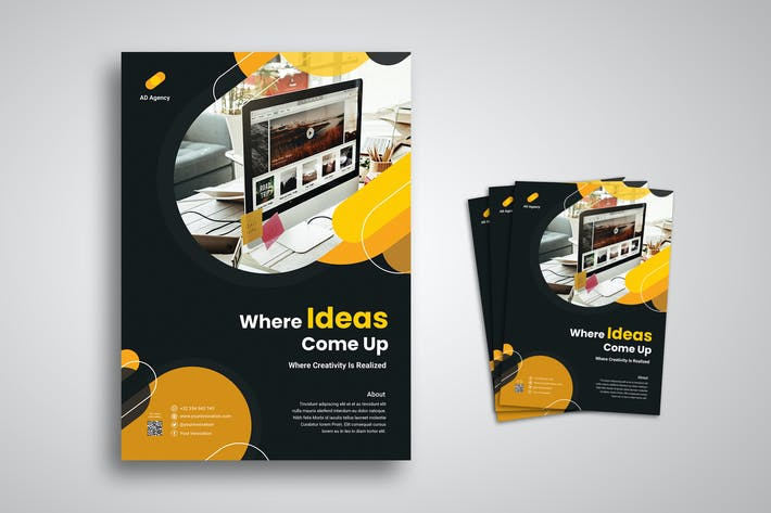 Thumbnail for Agency Flyer Promo Template