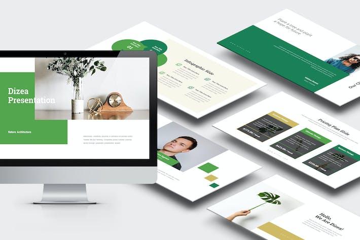 Thumbnail for Dizea : Green Lifestyle Keynote