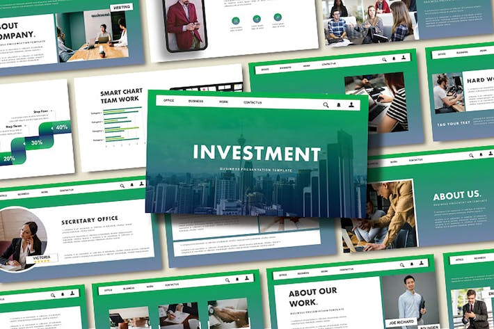 Thumbnail for INVESTMENT - Business Keynote Template