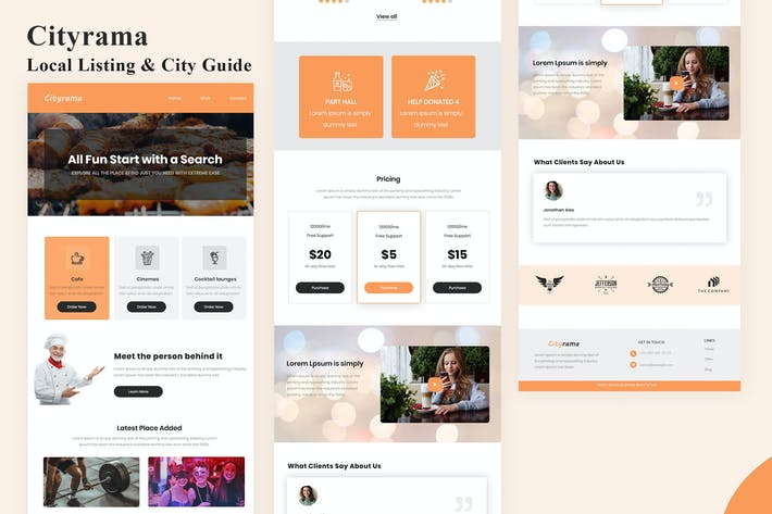 Thumbnail for Cityrama - Local Listing & City Email Newsletter
