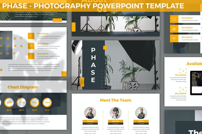 Phase - Photography Powerpoint Template