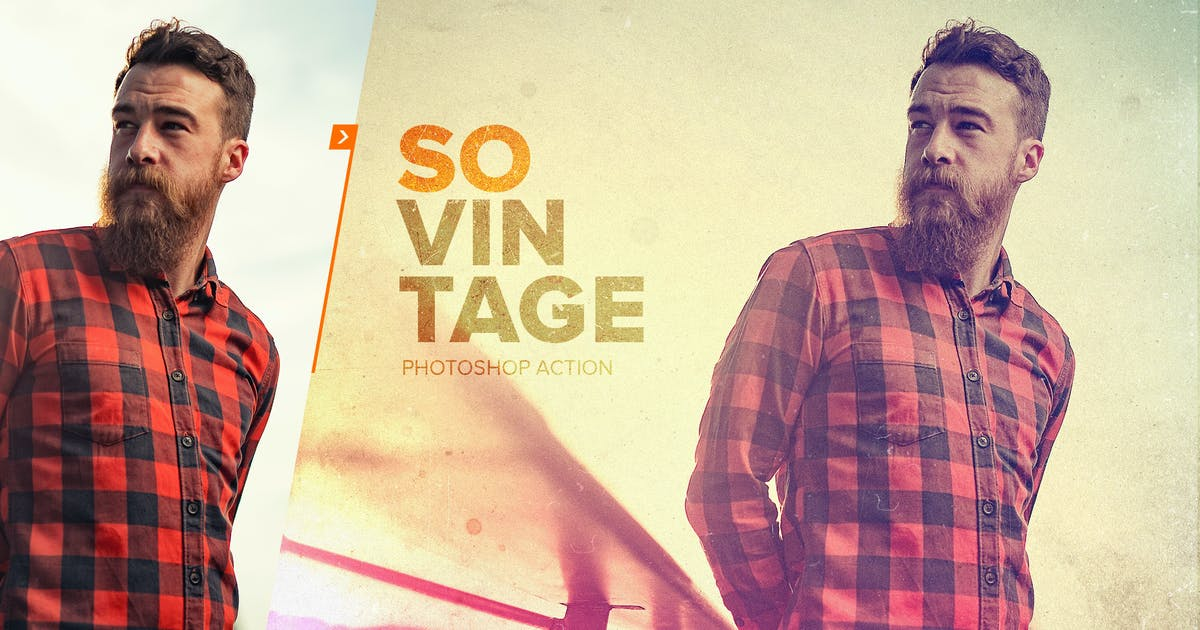 Download SoVintage Photoshop Action by sodasong