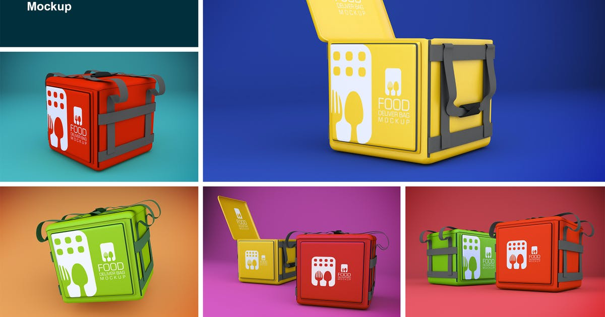Download Food Delivery Bag by QalebStudio