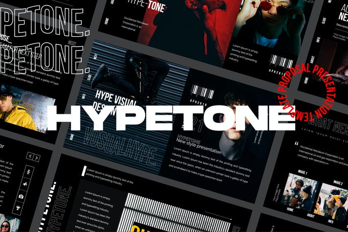 Thumbnail for Hypetone - Presentation Creative Business Company