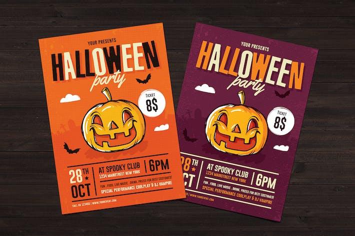 Thumbnail for Halloween Flyer 02