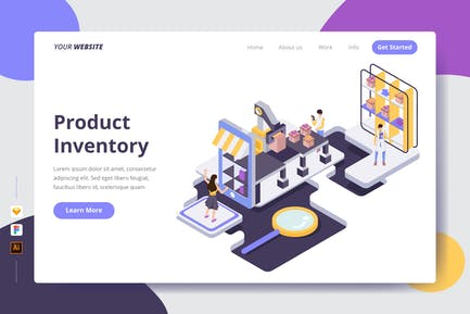 Product Inventory - Landing Page
