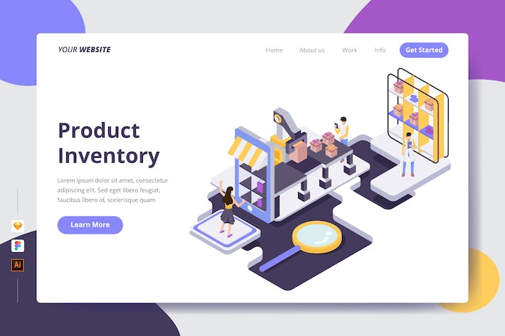 Thumbnail for Product Inventory - Landing Page