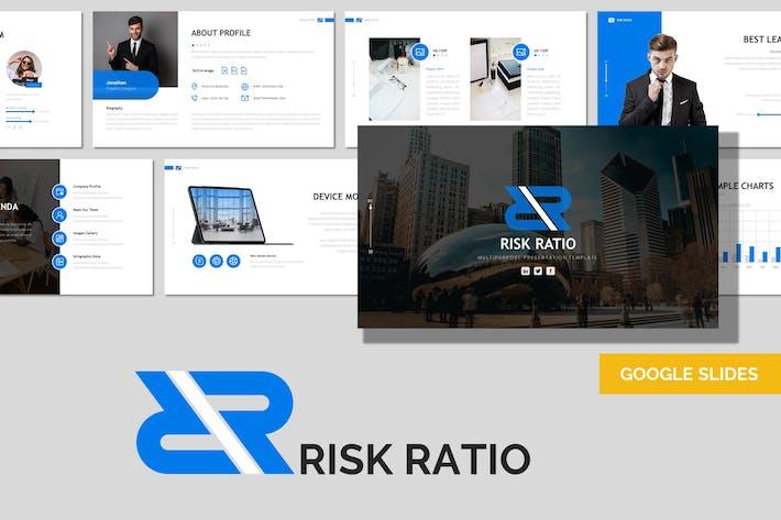 Коэффициент риска - Многоцелевой Шаблон Google слайдов